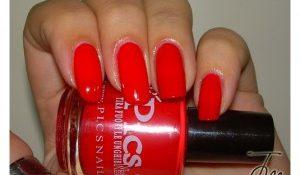 smalto pics nail rosso