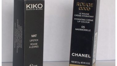 Dupe – Rossetto Chanel vs Rossetto Kiko