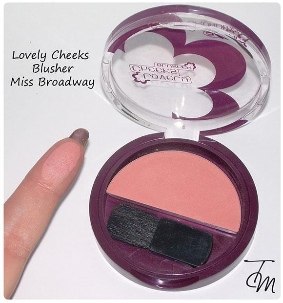 Lovely cheeks blusher miss broadway