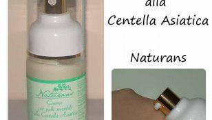 crema per pelli sensibili alla centella asiatica naturans