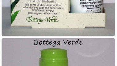 Bottega Verde Stick contorno occhi con Estratto di Aloe Biologica [Review, Photo, Swatches]