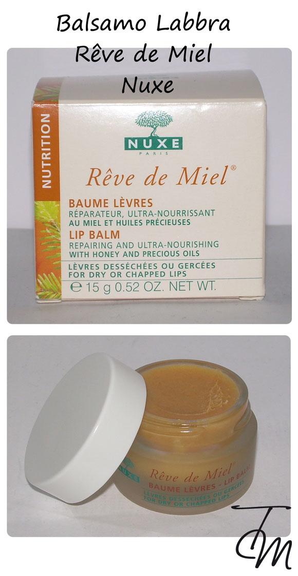 Balsamo Labbra Nuxe Reve de miel