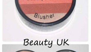 stripey blusher orange beauty uk