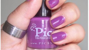 Swatch Review smalto n viola orchidea pics nails boccetta dritta
