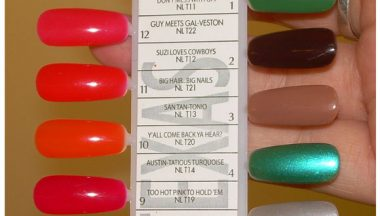 texas collection by opi swatches su tips