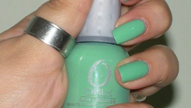 Orly Ancient Jade [Review, Photo, Swatches]