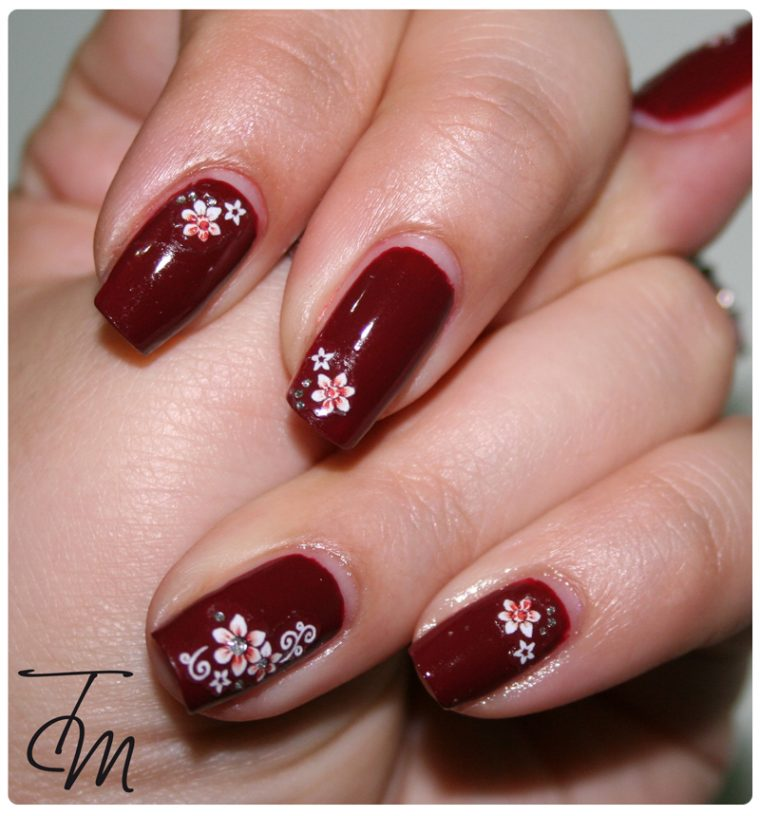 ongles fleuri im suzi and im a chocoholic terza entry opi blog contest