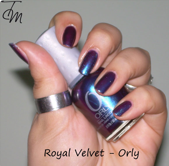 swatch-e-review-orly-royal-velvet-con-vari-bottiglina-storta