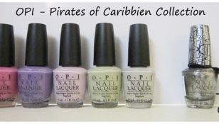 opi pirates of caribbien collection