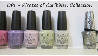 OPI Pirates of The Caribbean Collection  [Review, Photo, Swatches]