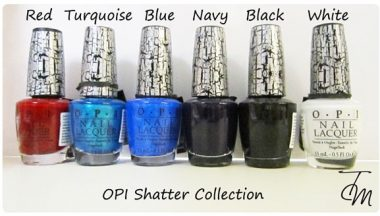 OPI Shatter Collection  [Review, Photo, Swatches]