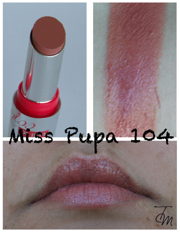 miss pupa 104 Miss Pupa Collection [Preview, Photo, Swatches]