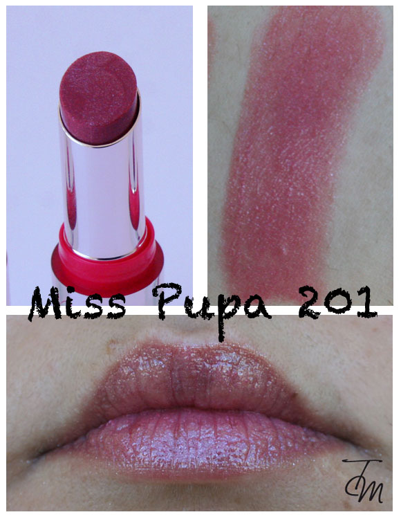miss pupa 201 Miss Pupa Collection [Preview, Photo, Swatches]