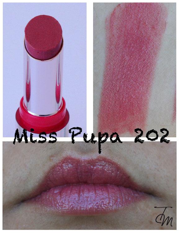 miss pupa 202 Miss Pupa Collection [Preview, Photo, Swatches]