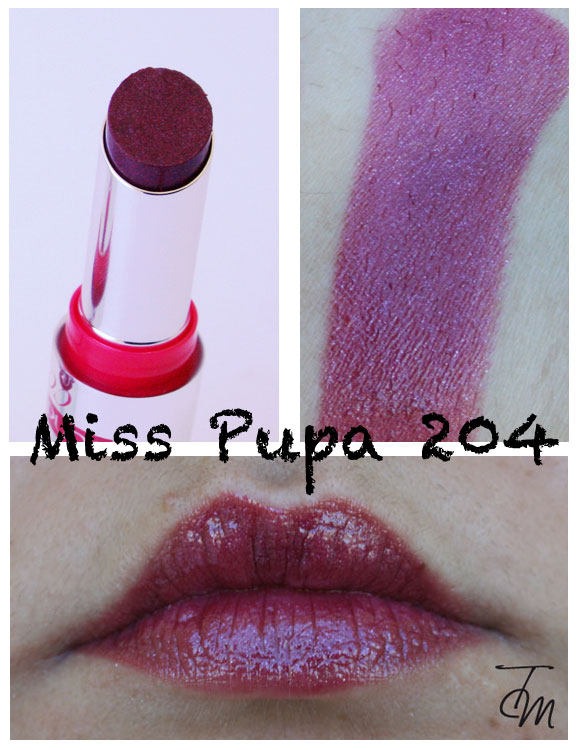 miss pupa 204 Miss Pupa Collection [Preview, Photo, Swatches]