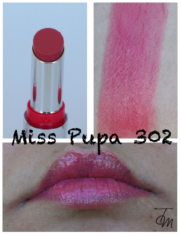 miss pupa 302 Miss Pupa Collection [Preview, Photo, Swatches]