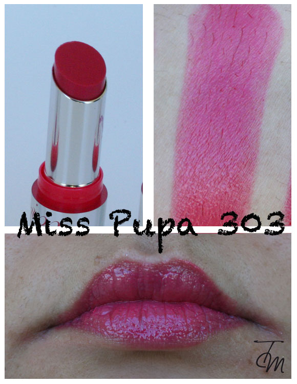 miss pupa 303 Miss Pupa Collection [Preview, Photo, Swatches]