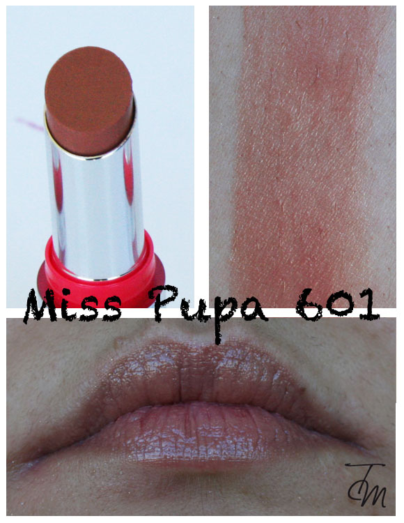 miss pupa 601 Miss Pupa Collection [Preview, Photo, Swatches]