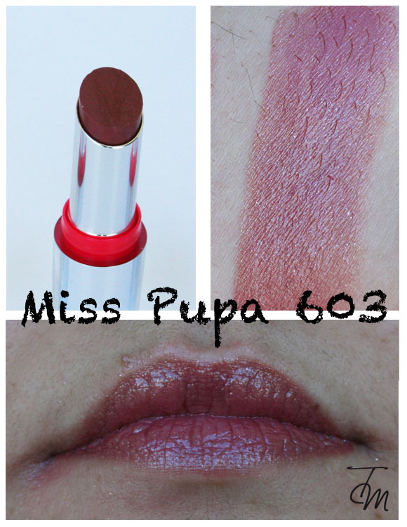 miss pupa 603 Miss Pupa Collection [Preview, Photo, Swatches]