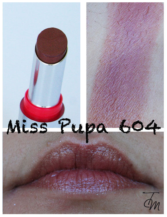 miss pupa 604 Miss Pupa Collection [Preview, Photo, Swatches]