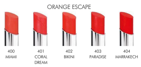 miss pupa orange escape Miss Pupa Collection [Preview, Photo, Swatches]