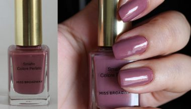 Miss Broadway Light Color Nail Polish Colore Perlato [Preview, Photo, Swatches]