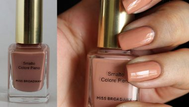 swaches luxy color nude  miss broadway