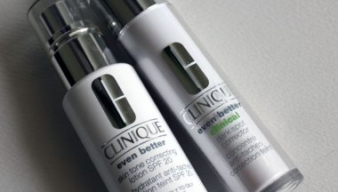 Clinique Even Better Skin Tone Correcting Lotion & Even Better Clinical Dark Spot Corrector [Review, Photo, Swatches]
