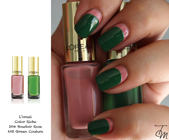 l oreal  Boudoir Rose+ Green Couture