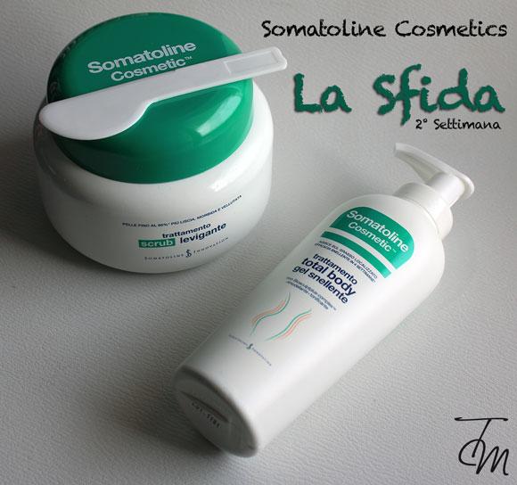 somatoline cosmetics la sfida  settimana