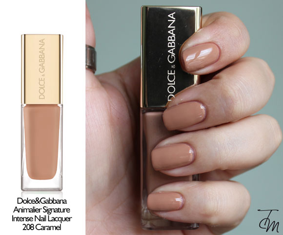swatches-dolce&gabbana-Intense-Nail-Lacquer-208-Caramel