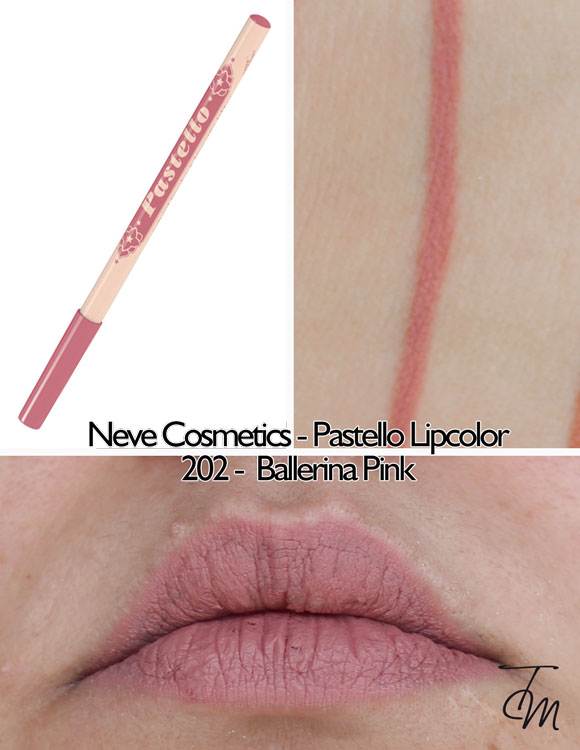 swaches-neve-cosmetics-pastello-lipcolor-matita-labbra-202-ballerina-pink