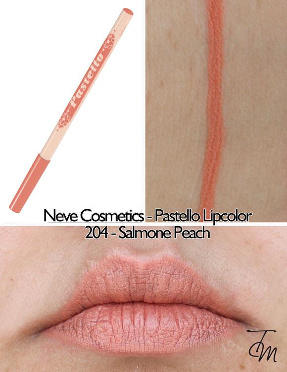swaches-neve-cosmetics-pastello-lipcolor-matita-labbra-204-salmone-peach