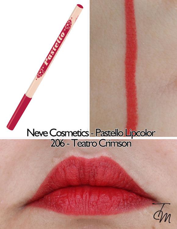 swaches-neve-cosmetics-pastello-lipcolor-matita-labbra-206-teatro-crimson