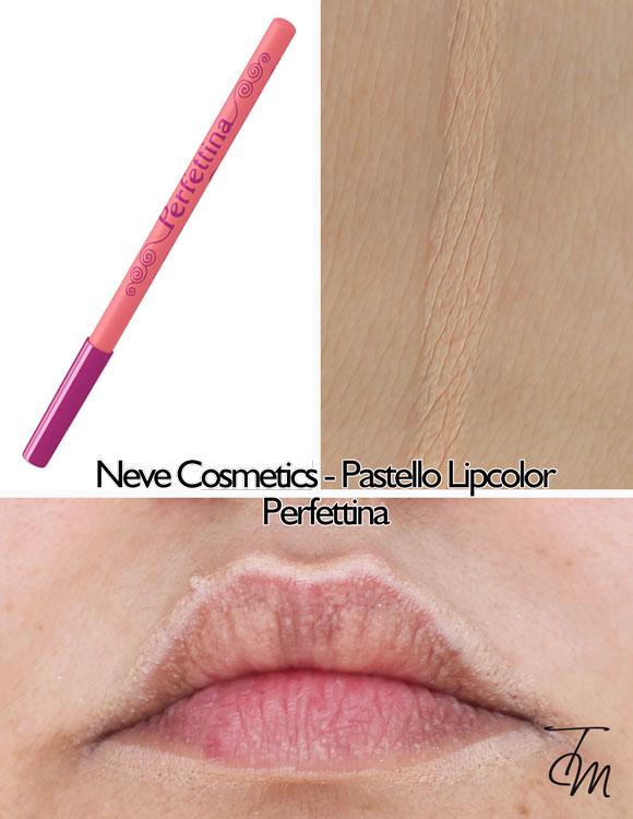 swaches-neve-cosmetics-pastello-lipcolor-matita-labbra-perfettina