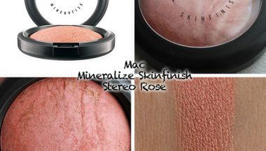 Mac Mineralize SkinFinish Stereo Rose [Review, Photo, Swatches]