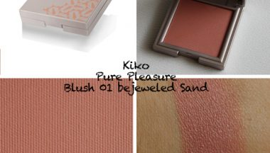 Kiko Pure Pleasure Blush bejeweled Sand