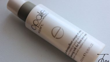 Opale Latte latte detergente viso e occhi [Review, Photo, Swatches]