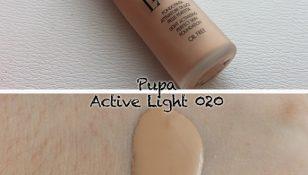 pupa active light fondotinta attivatore di luce