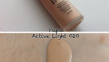 Pupa Active Light Fondotinta Attivatore di Luce n020  [Review, Photo, Swatches]