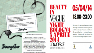 Douglas serata Aprile Beauty in Vogue
