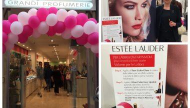 Inaugurazione Idea Bellezza Benevento con Estee Lauder