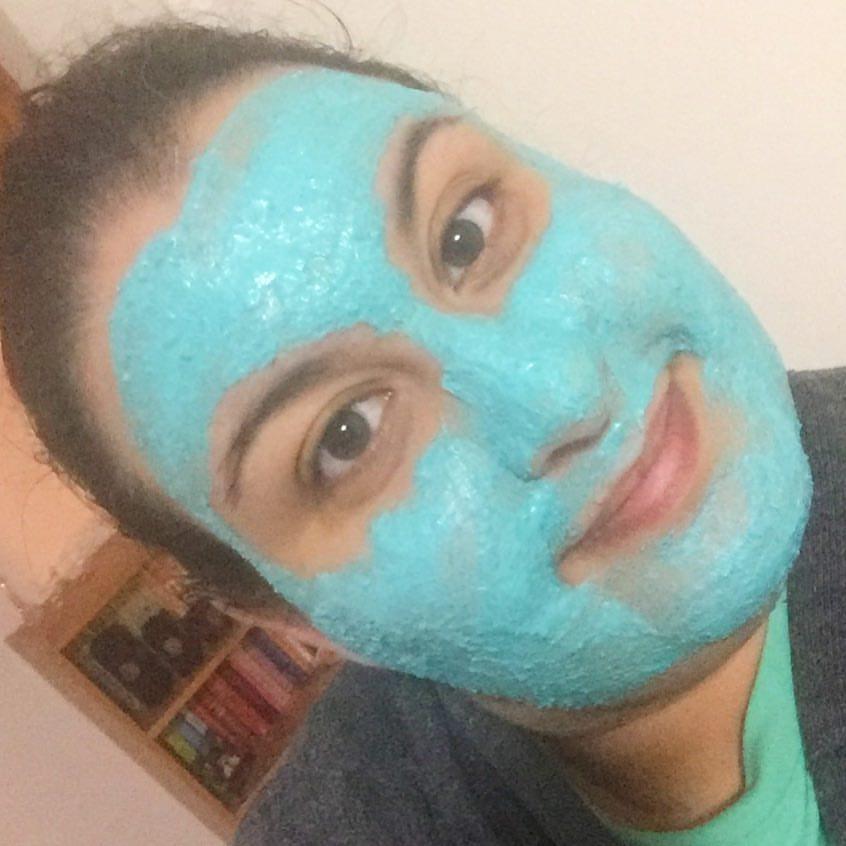 maschera viso lush