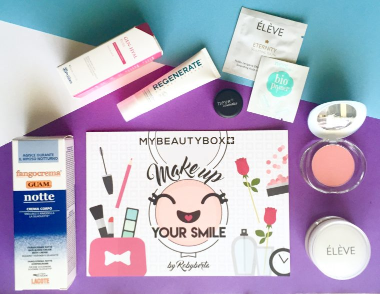 MyBeautyBox Make Up your Smile by Robyberta