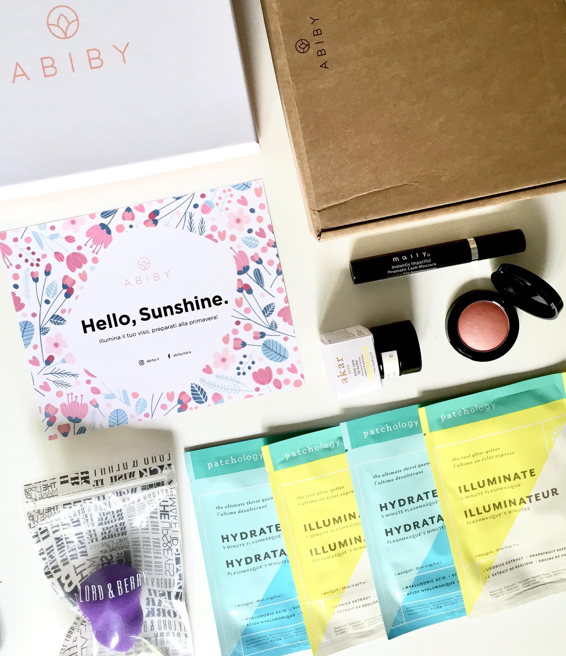Abiby Beauty Box Brand di cosmesi internazionali ad ogni