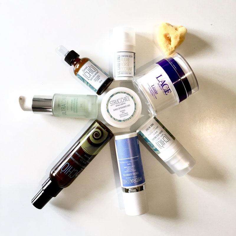 Linea Viso Chio beauty routine